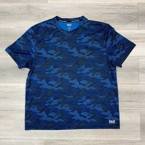 Everlast Sport Men's Athletic Blue Camouflage